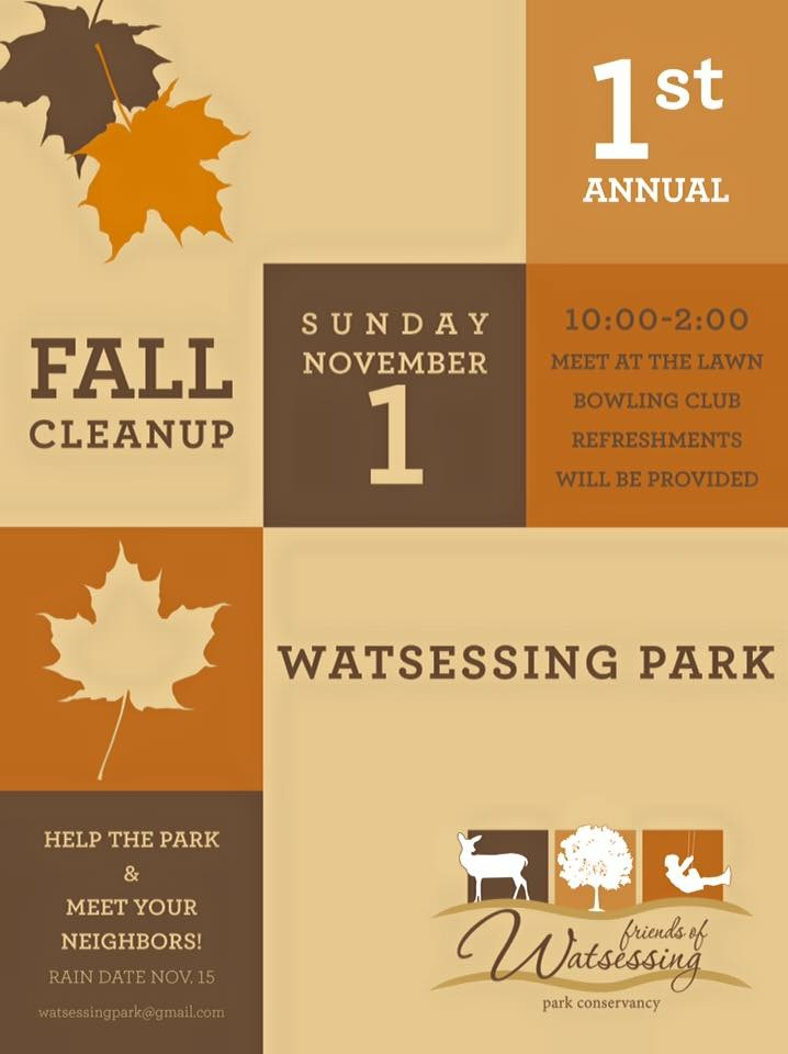 Cleanups \u2014 Friends of Watsessing Park Conservancy