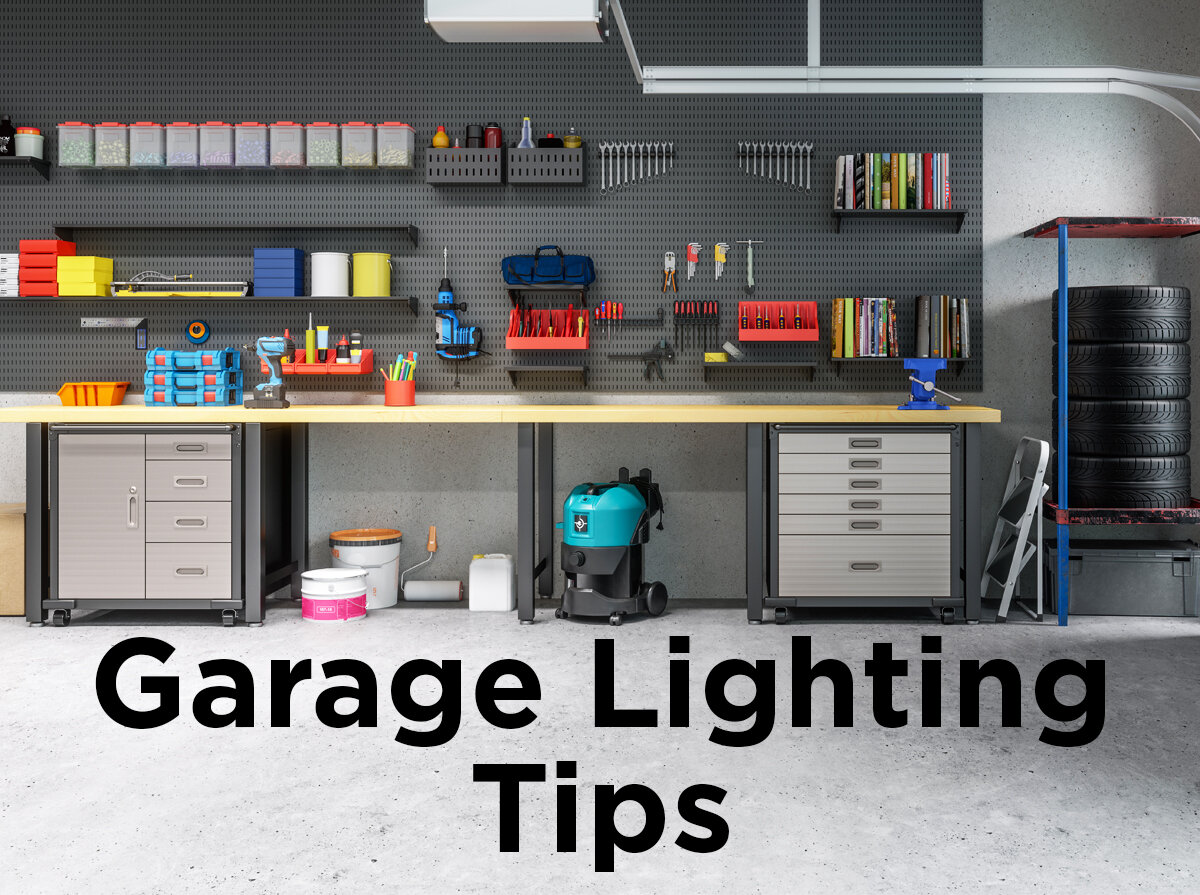 Garage Design Tips Garage Lighting Tips 1000bulbs Blog