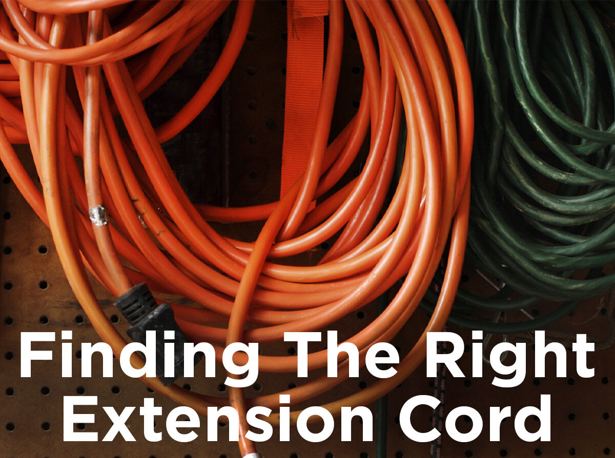 Garage Heater Extension Cord Finding The Right Extension Cord 1000bulbs Blog