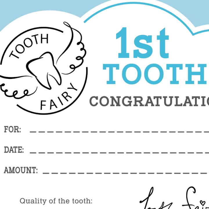Printable Tooth Fairy Cards cvfreelettersbrandforesight