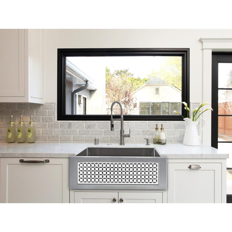 c ss 1 white kitchen sink C 30 SS PNL