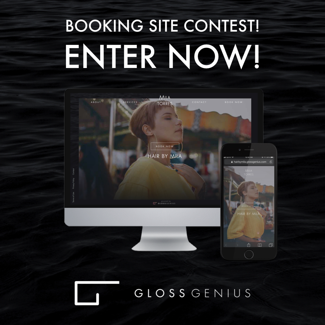 Booking Site Booking Site Contest Enter Now Glossgenius Blog