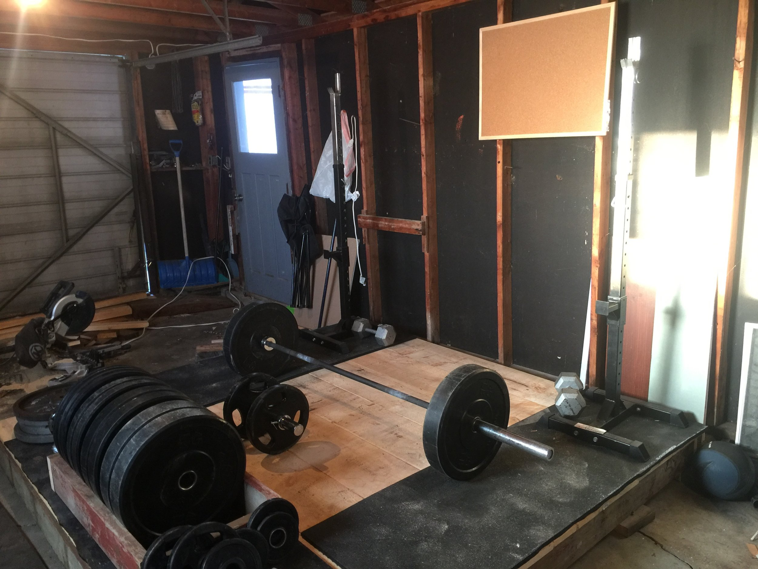Garage Gym Humidity How To Make An Olympic Weightlifting Platform Olorin Nutrition
