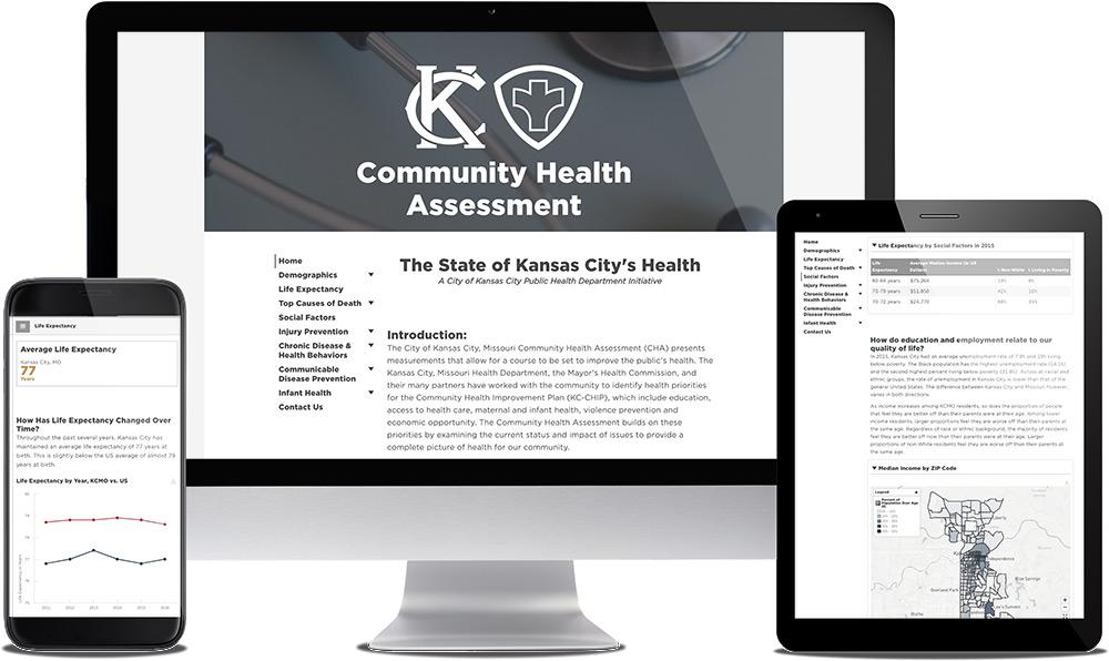 Health Dashboards \u2014 mySidewalk Data-Driven Insights, Improvement