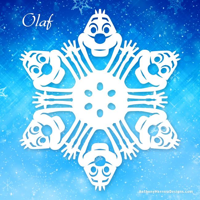Frozen Snowflakes \u2014 Anthony Herrera Designs