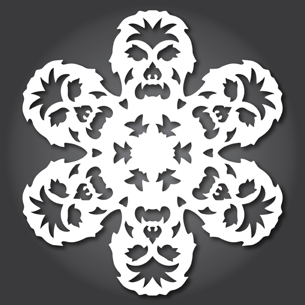 Star Wars 2012 Collection \u2014 Anthony Herrera Designs - snowflake template