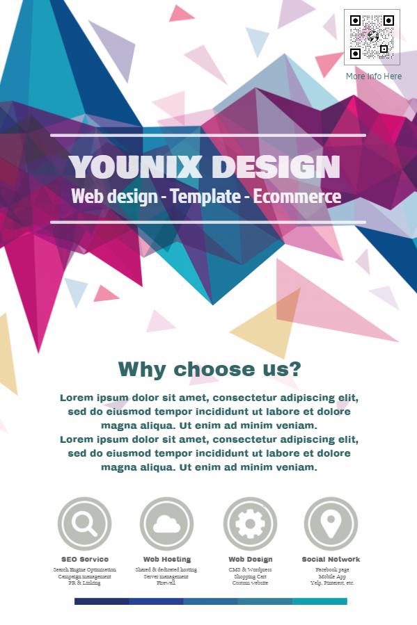 18 Must See Design Templates For Businesses Design Studio - promotional flyer designs