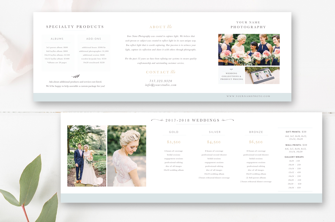 Pricing Templates for Photographers - Photographer Pricing Guide