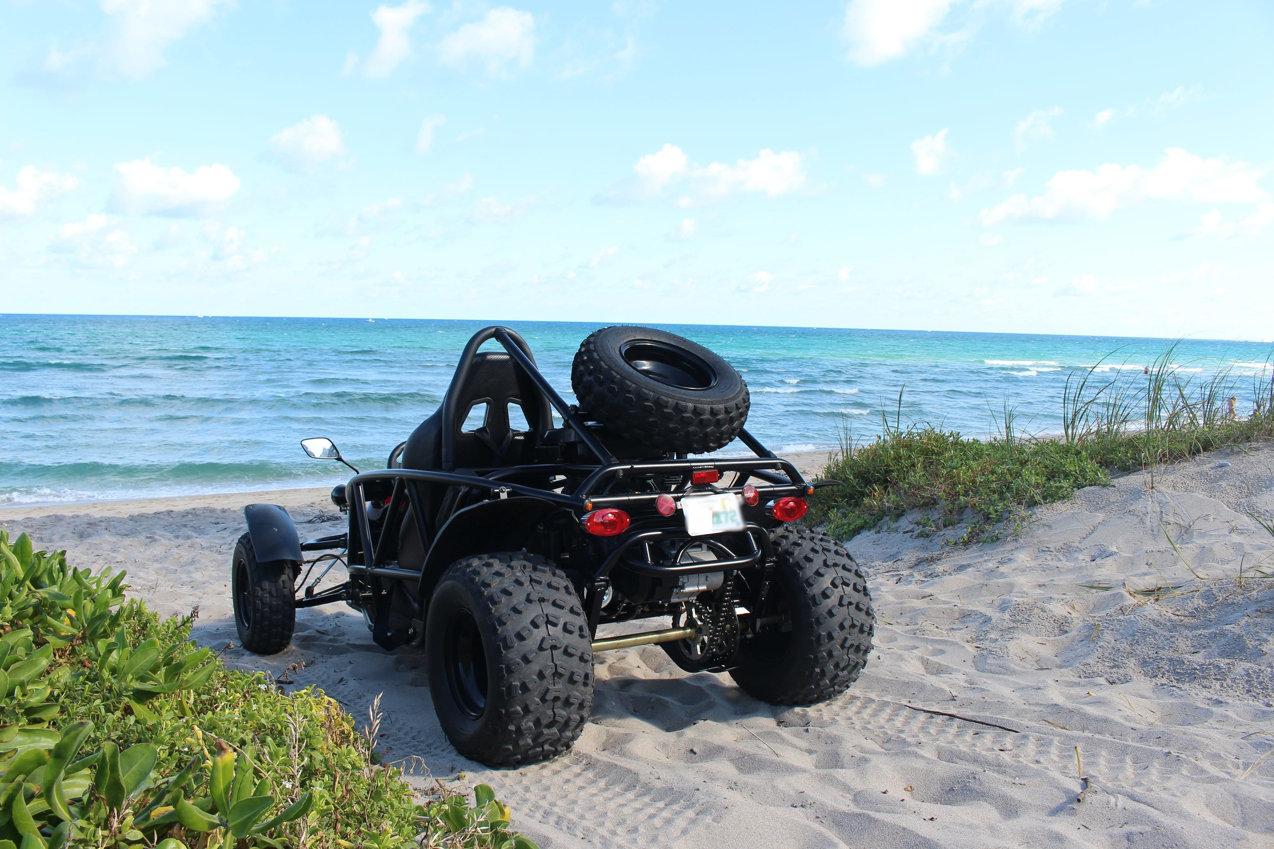 Kart Cross Buggy Build We Built A Street Legal Go Kart Then Drove It On The Beach