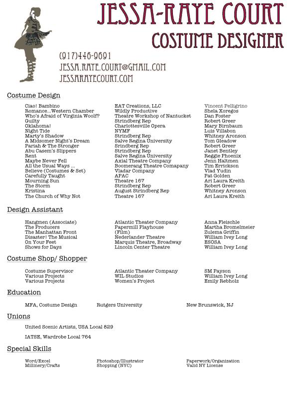 Resume \u2014 Jessa-Raye Court