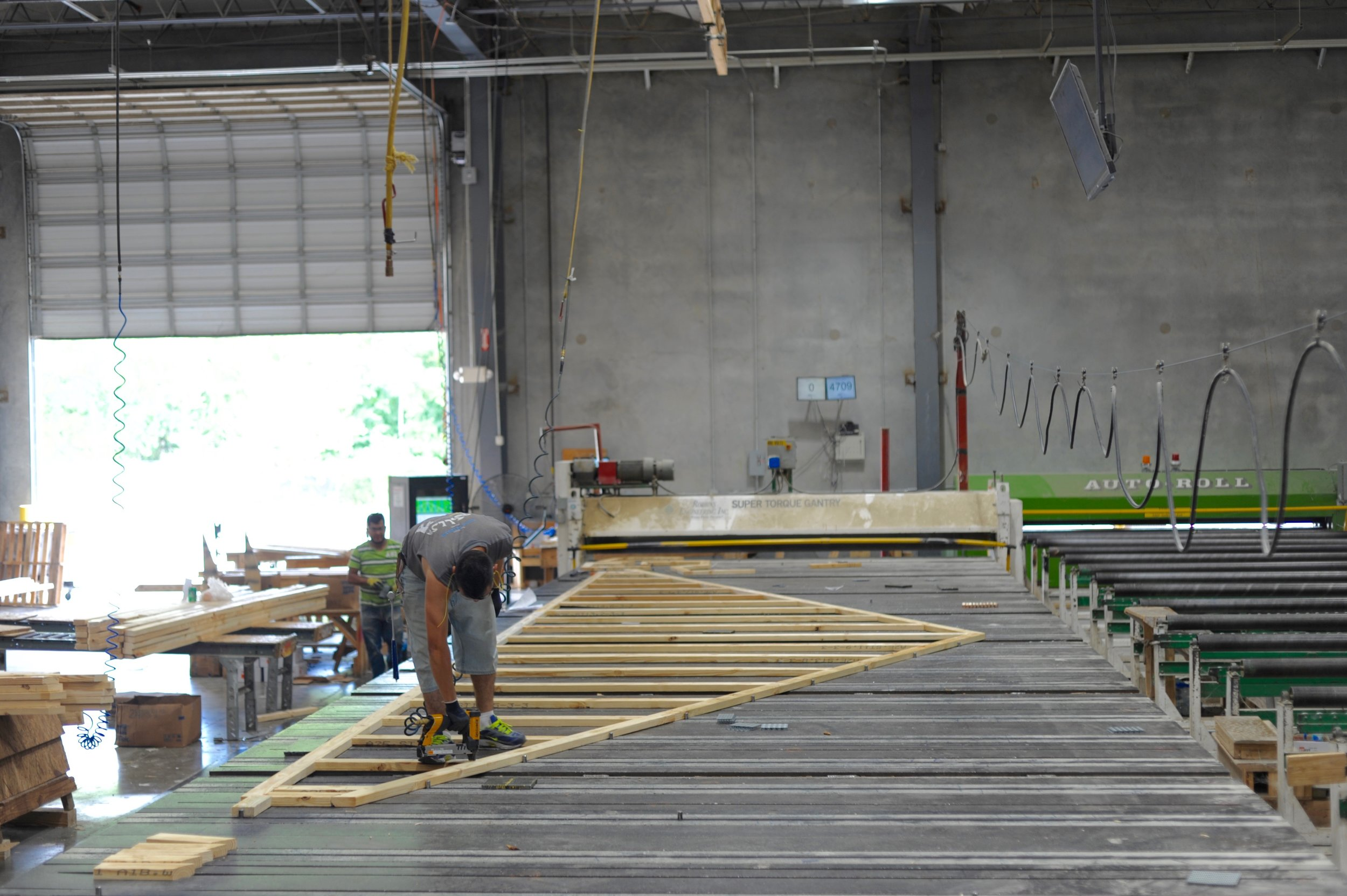 Trusses & Panels — Huskey Truss And Building Supply