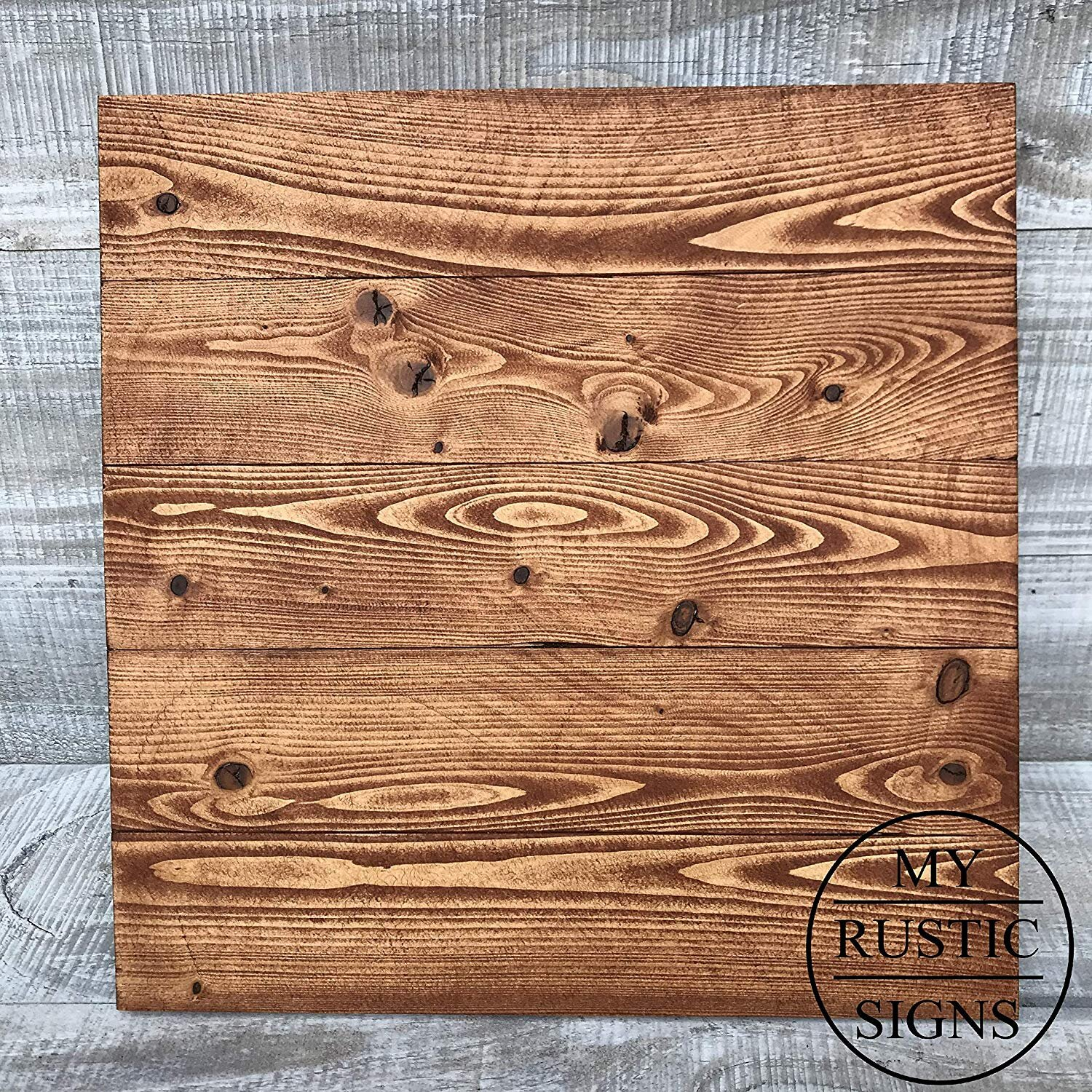 Rustic Wood Sign Blank In American Walnut My Rustic Signs