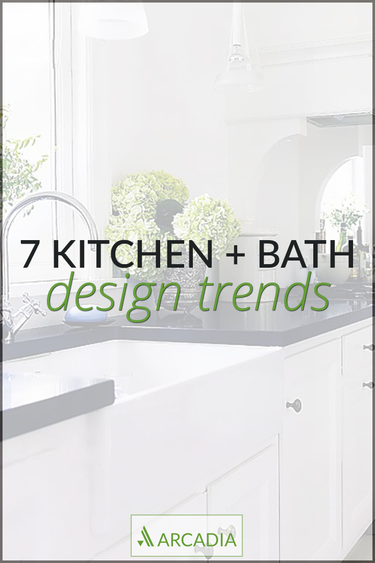 7 kitchen and bath design trends kitchen and bath design Arcadia PDX 7 kitchen and bath design trends
