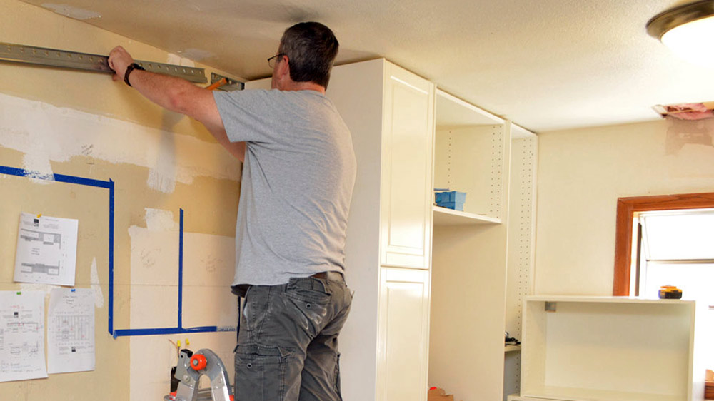 How To Install Wall Cabinets Without Studs 12 Tips For Installing An Ikea Kitchen — Az Diy Guy