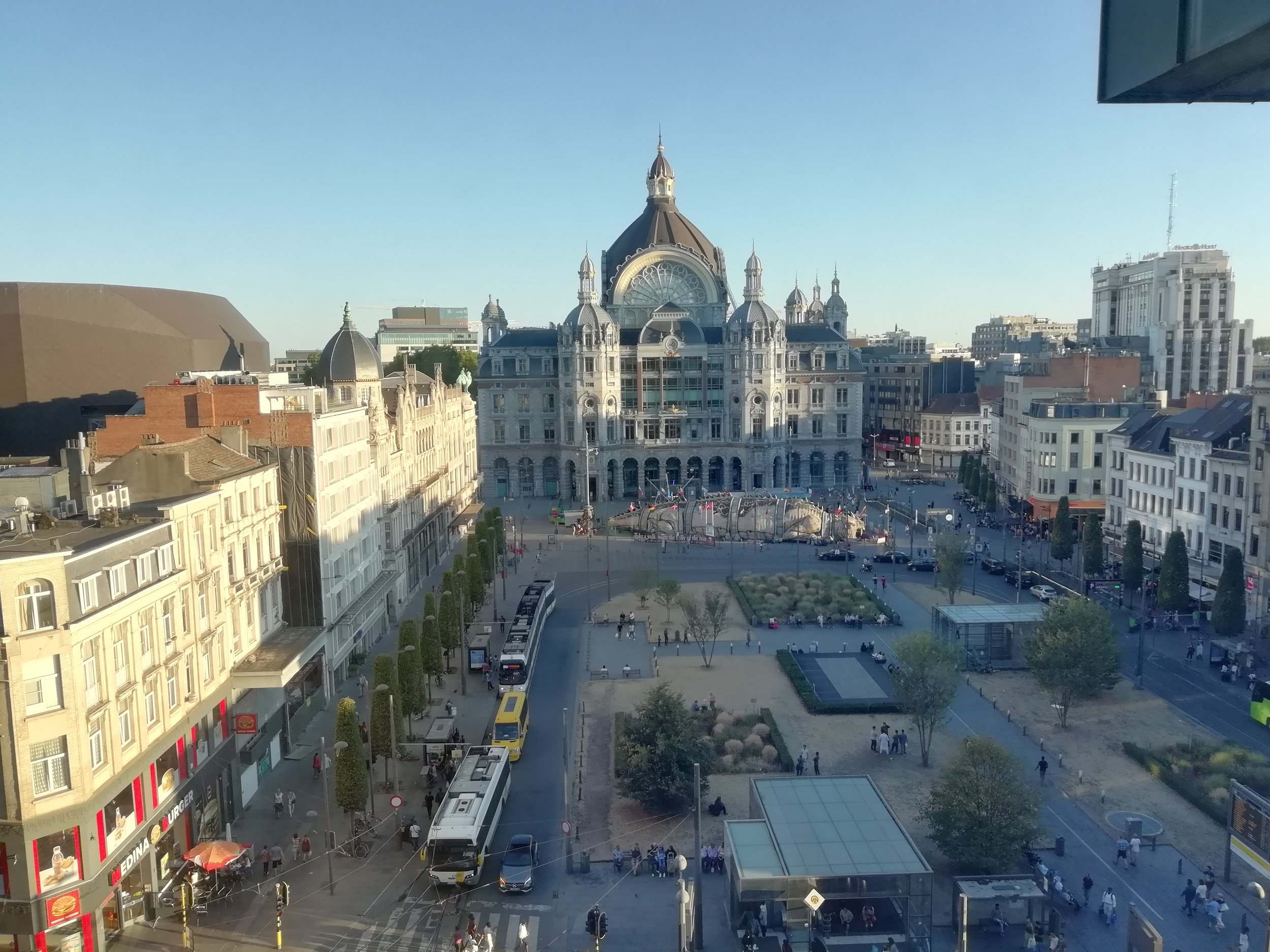 Radisson Blu Antwerpen View From The Room Radisson Blu Astrid Antwerp Reach Up For