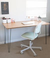 Ikea Hack Mid Century Modern Desk  Sarah Makes Stuff