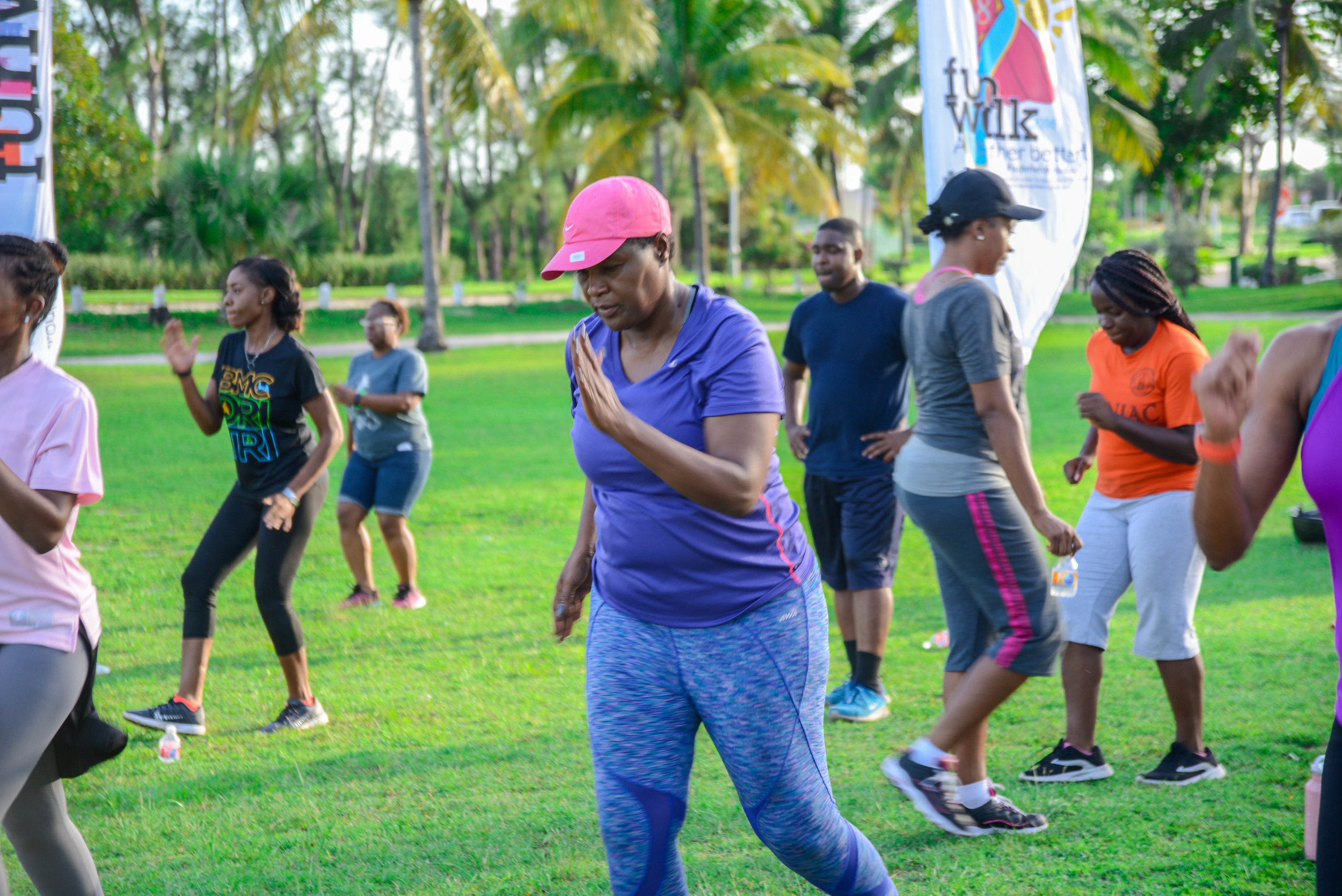Tabata in the Park \u2014 Colonial Group International Zest Wellness Blog