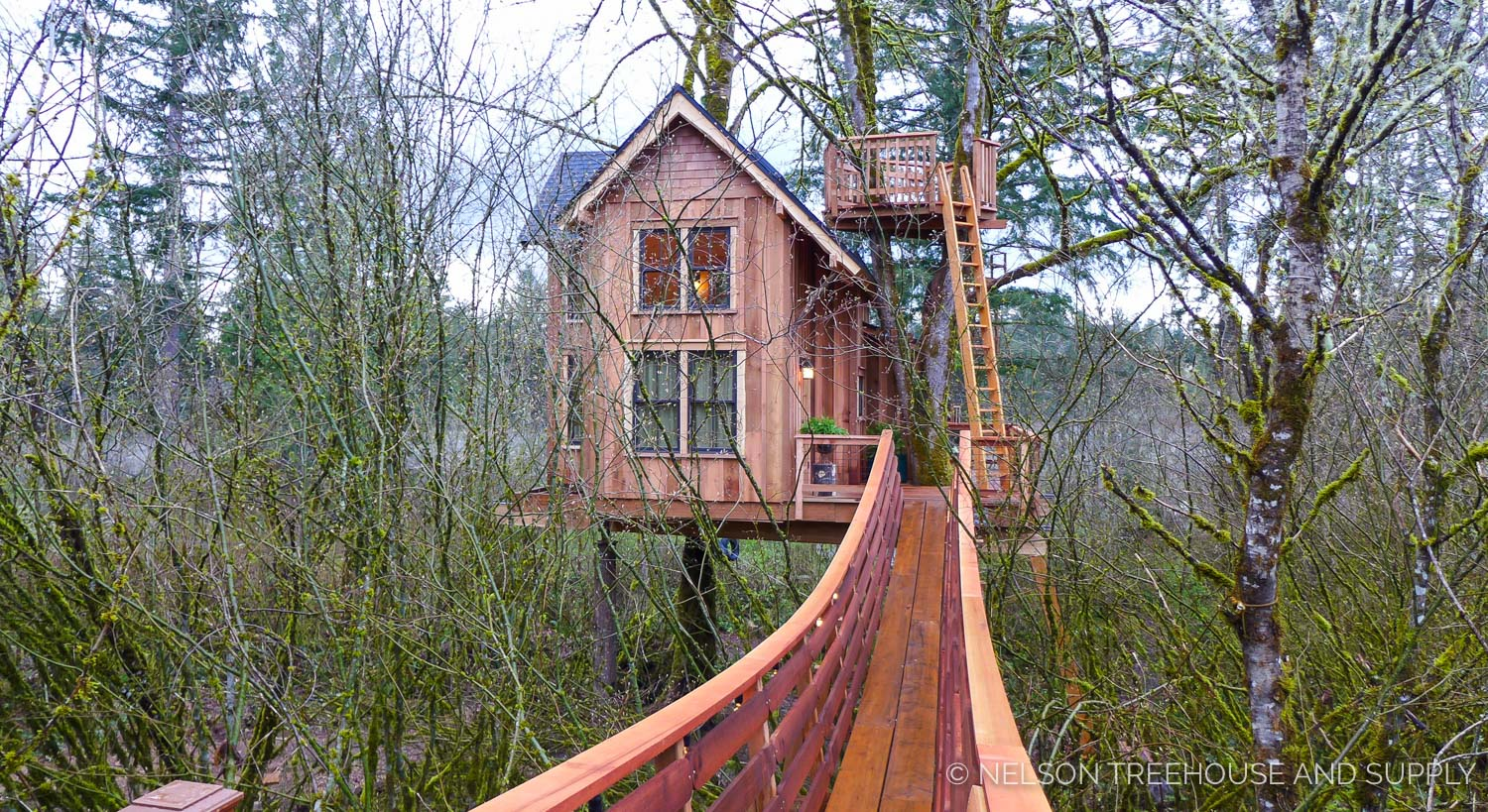 Thrill 39n39 Chill Treehouse Nelson Treehouse