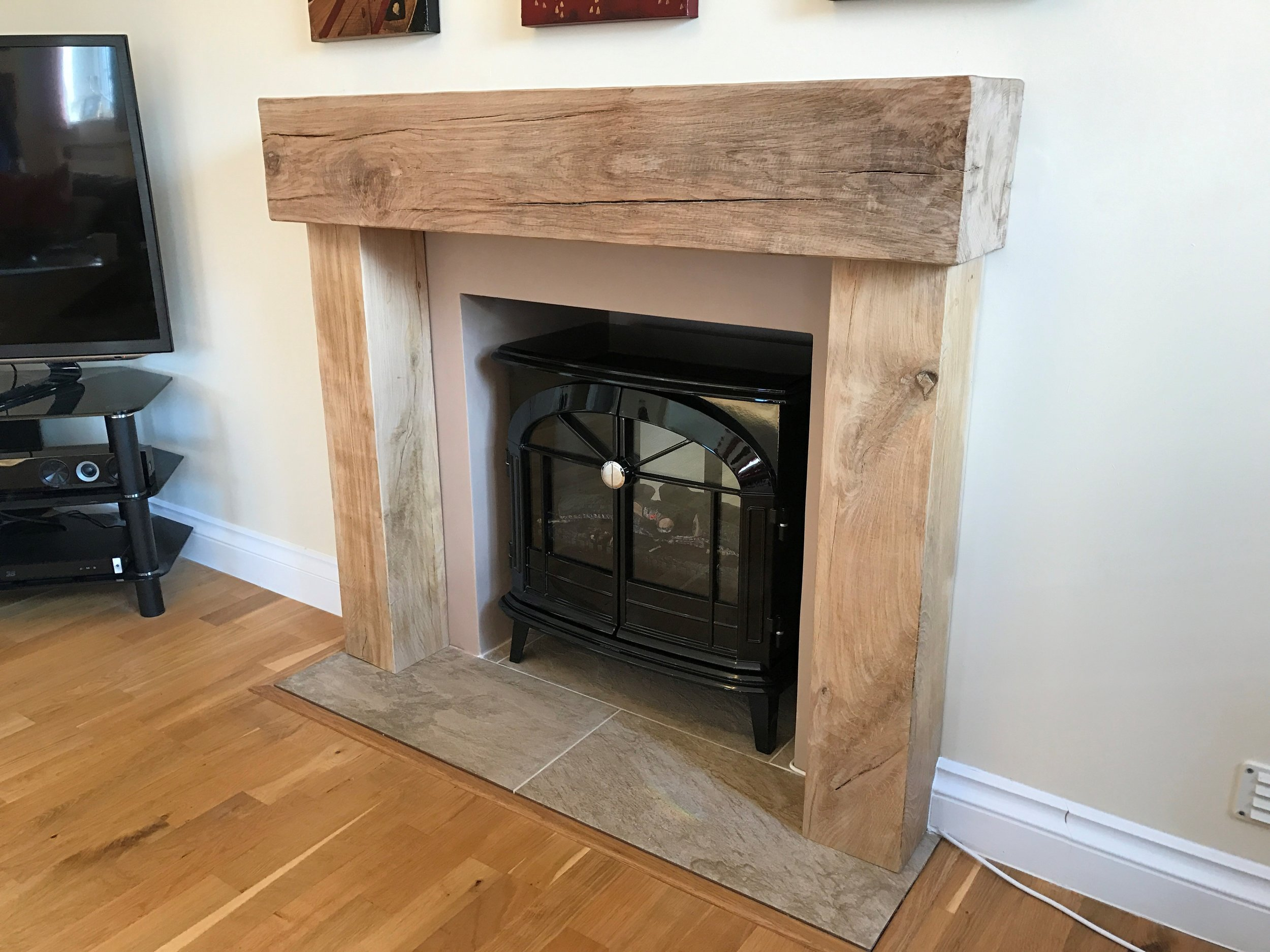 Oak Fireplace Beams Oakfield Horsham West Sussex