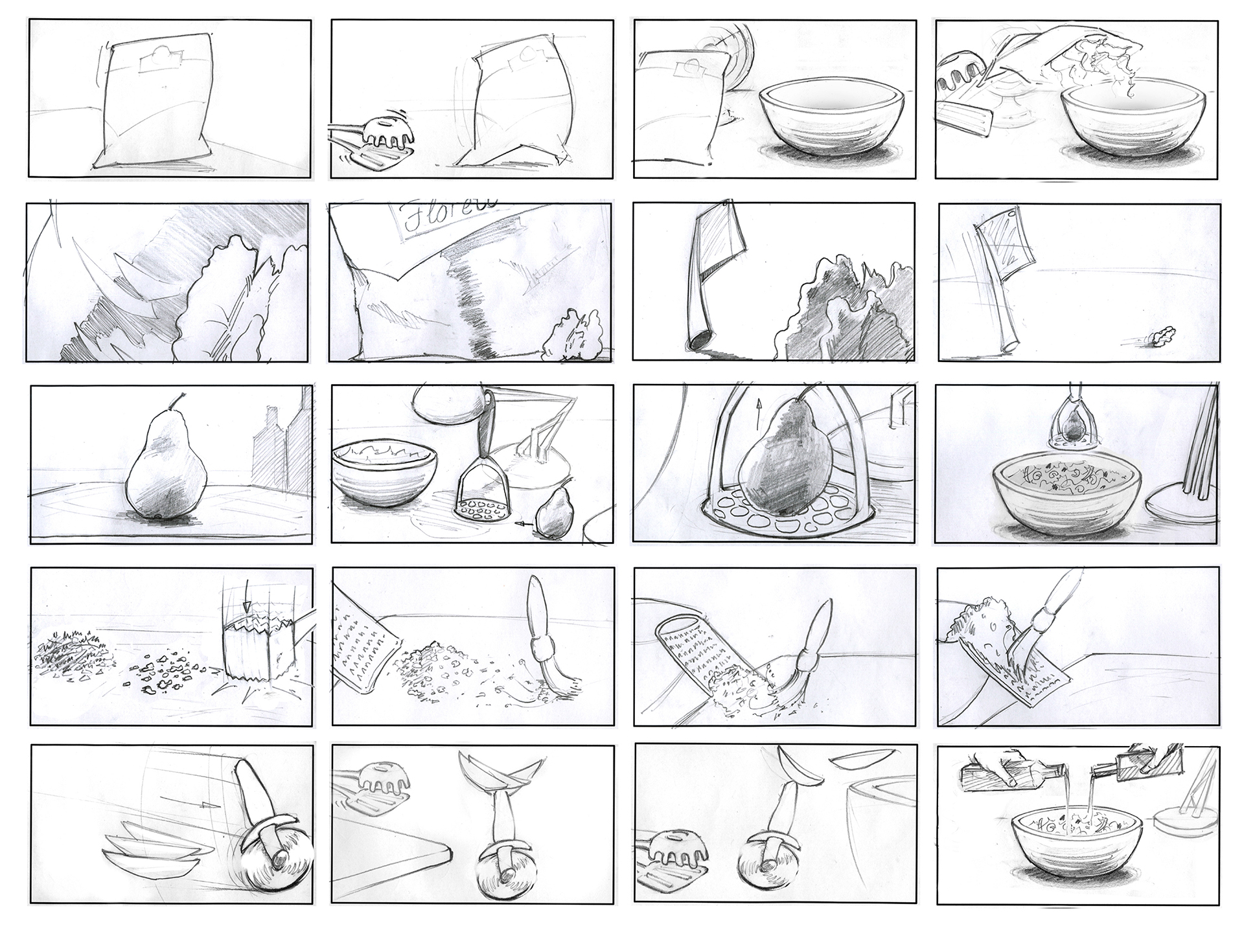 Jack Wright - Storyboard Artist - commercial storyboards