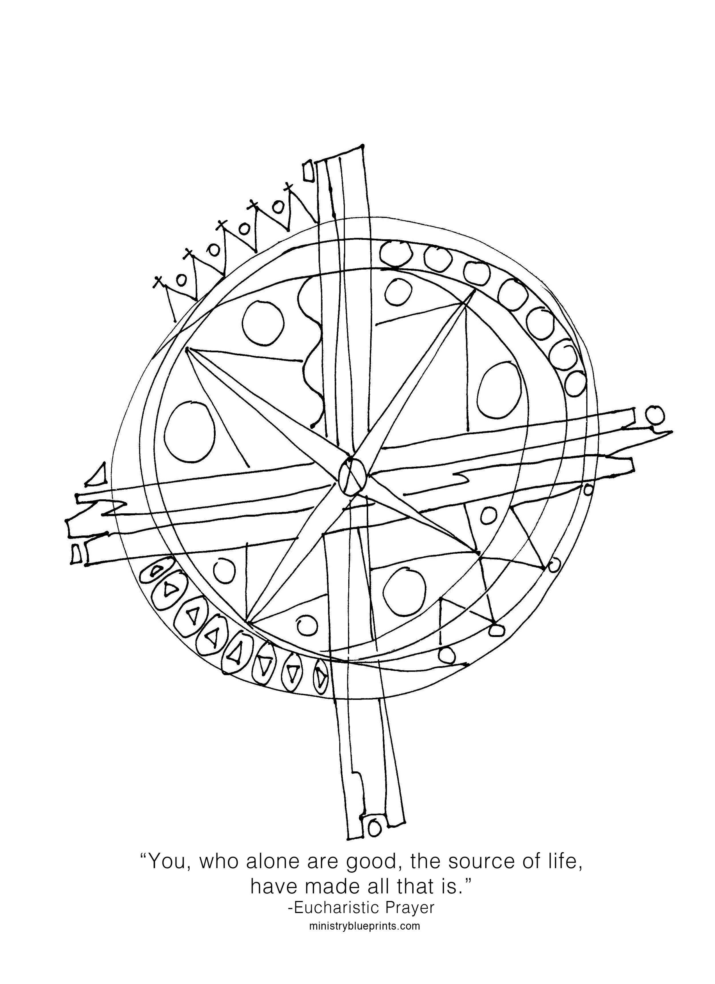 diagram of prayer
