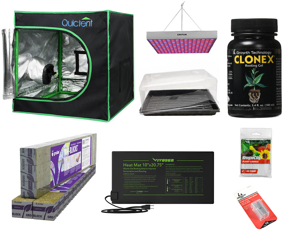 Clone Kit Deluxe Clone Starting Kit Greenbox Grown