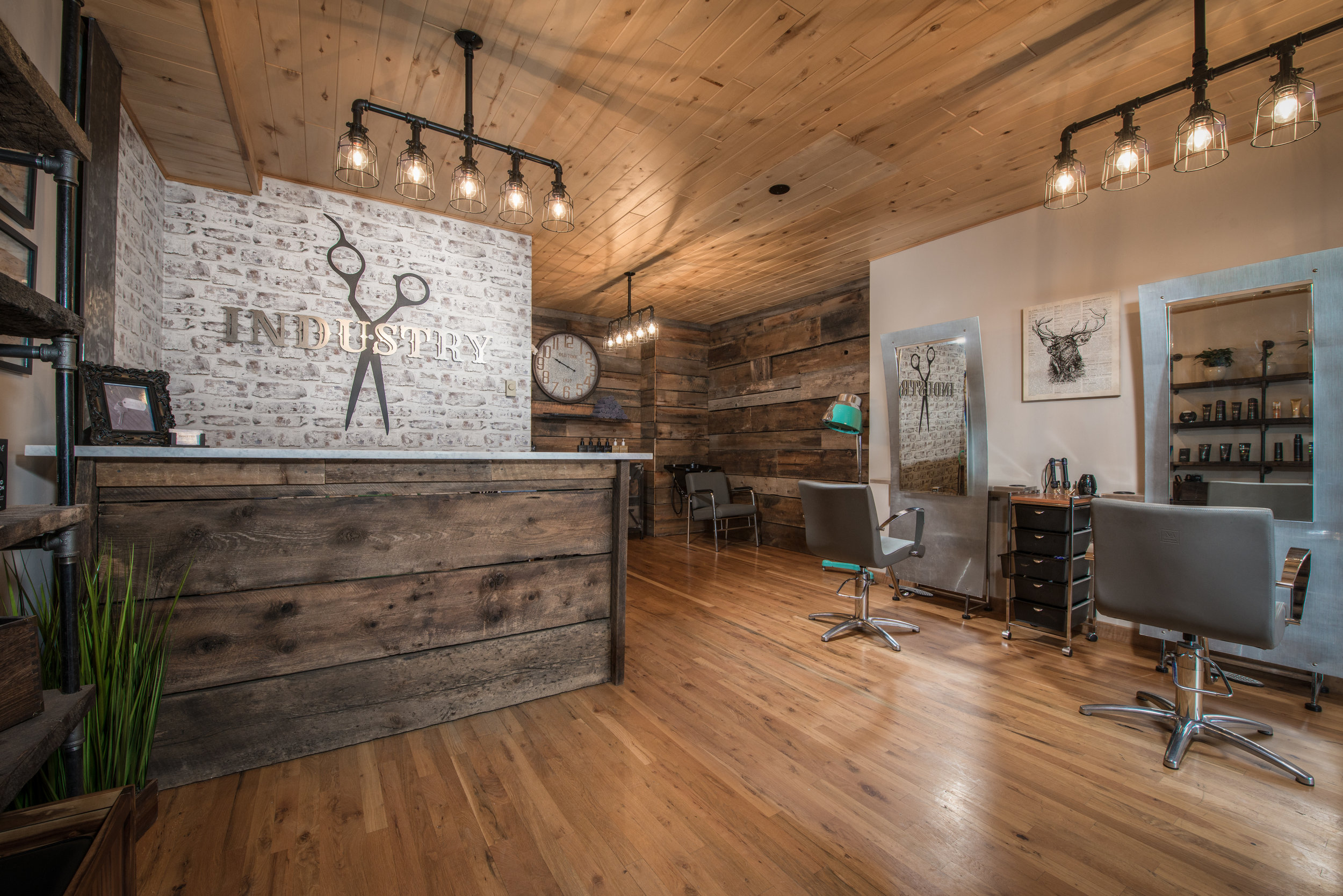 Salon Industrial Industry Hair Studio Crested Butte Co