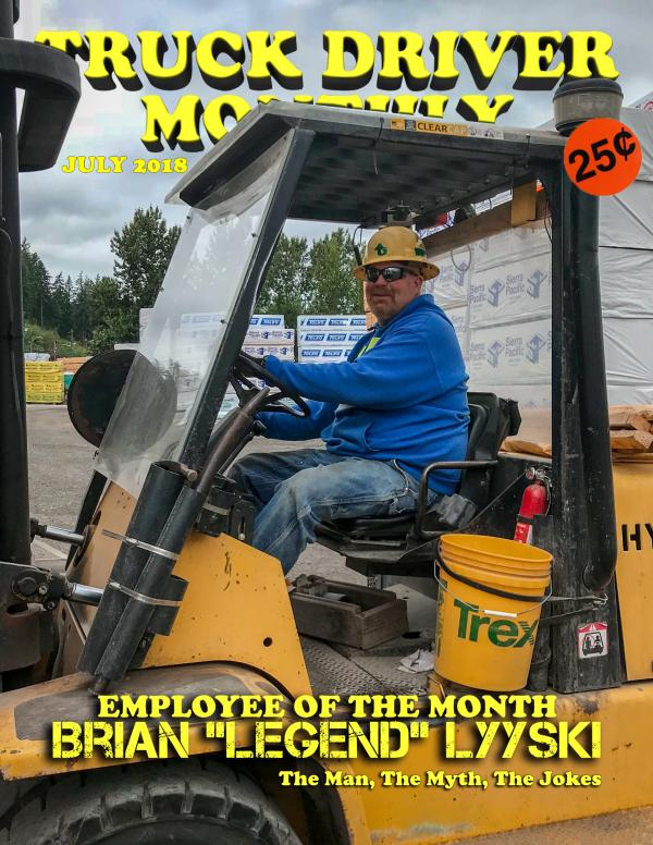 the Employee of the Month Award goes to \u2014 Gray Lumber