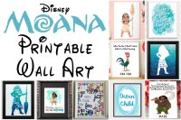 Eye Catching Disney Moana Printable Art Pictures and Wall ...