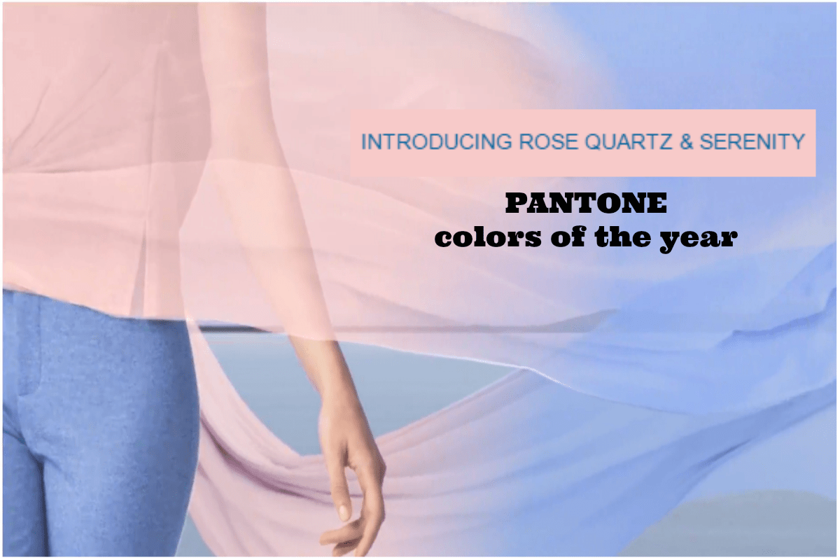 Pantone Color 2016 Pantone 2016 Color Of The Year Rose Quartz Serenity Nicole S