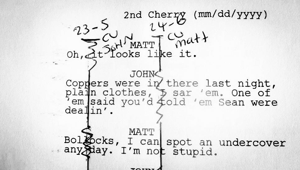 How to Line a Film Script \u2014 Amy Clarke Films