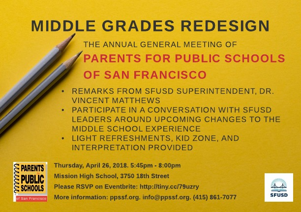 Middle Grades Redesign A Sneak Preview \u2014 PPSSF