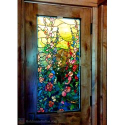 Small Crop Of Stained Glass Doors
