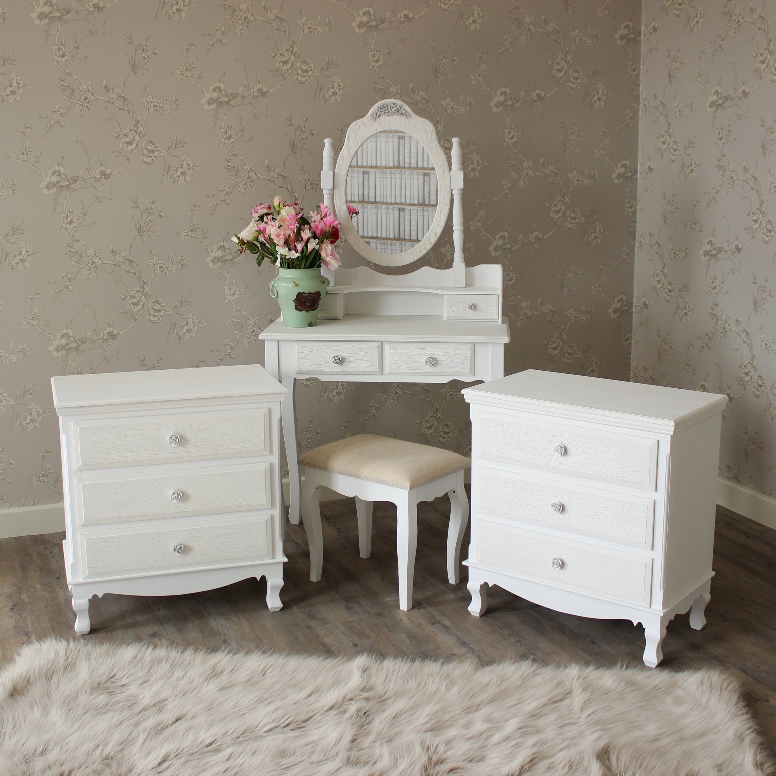 Dressing Maison Win A Dressing Table And Mirror Set In Shabby Chic Design Yours