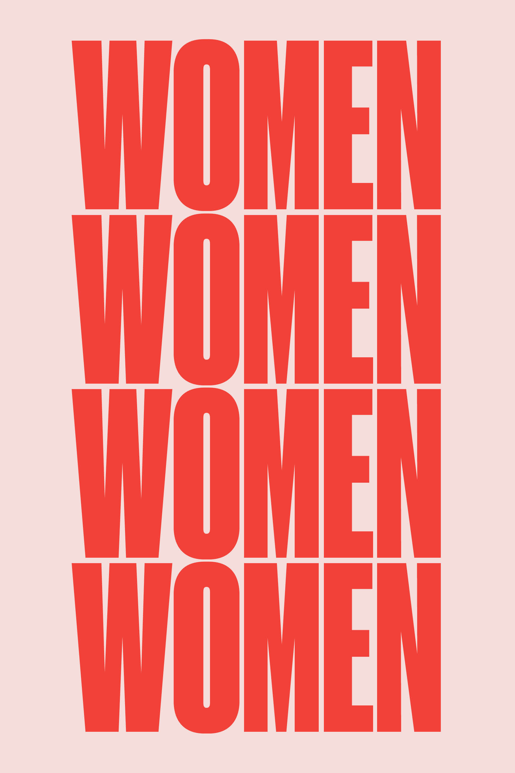 Poster Red Posters For All Womankind