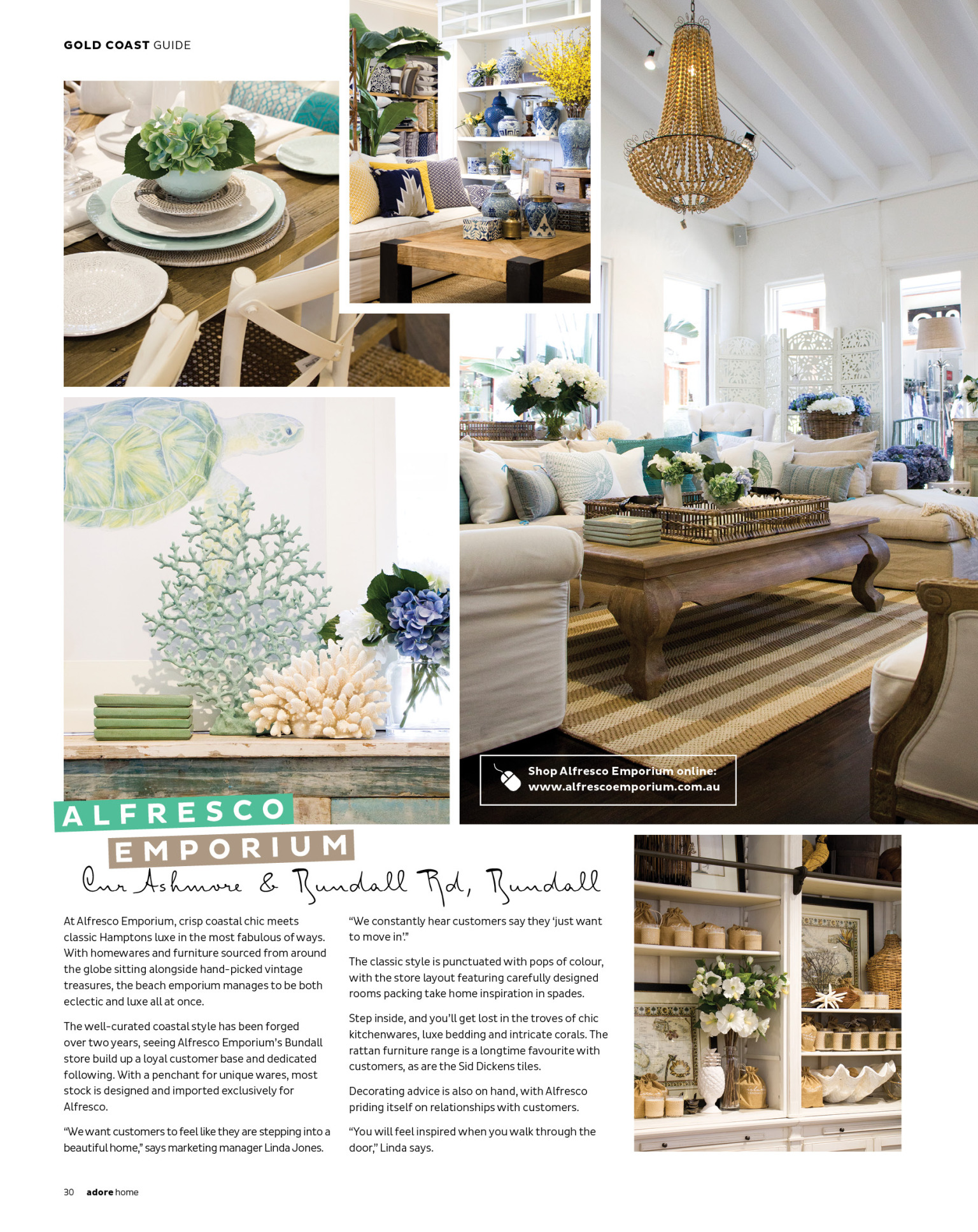 Kitchen Shop Bundall In Print Adore Magazine Paradise Edition Tanika Blair