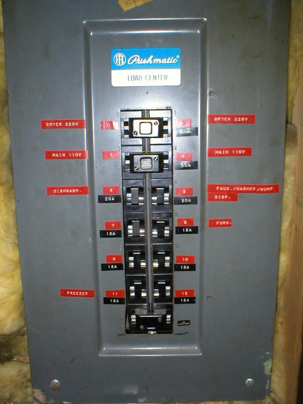 diagram of pushmatic circuit breaker panel wiring