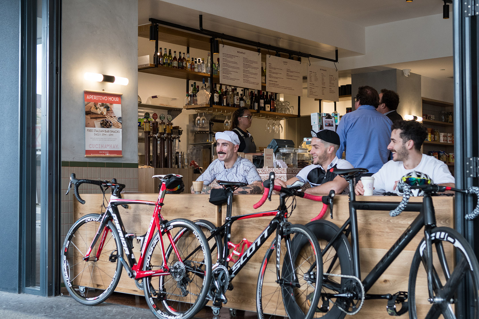 Cucina Vita Bicycle Pizza Cutter Perth City S Best Bike Friendly Cafe Cucina On Hay