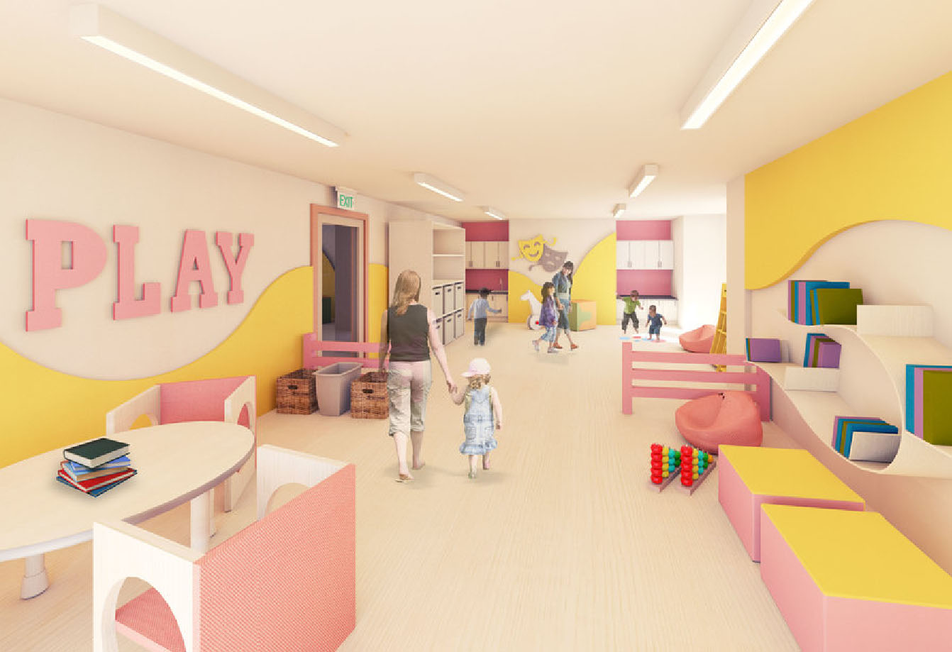 Care Design Tiny Treasure Child Care C Partners Architects