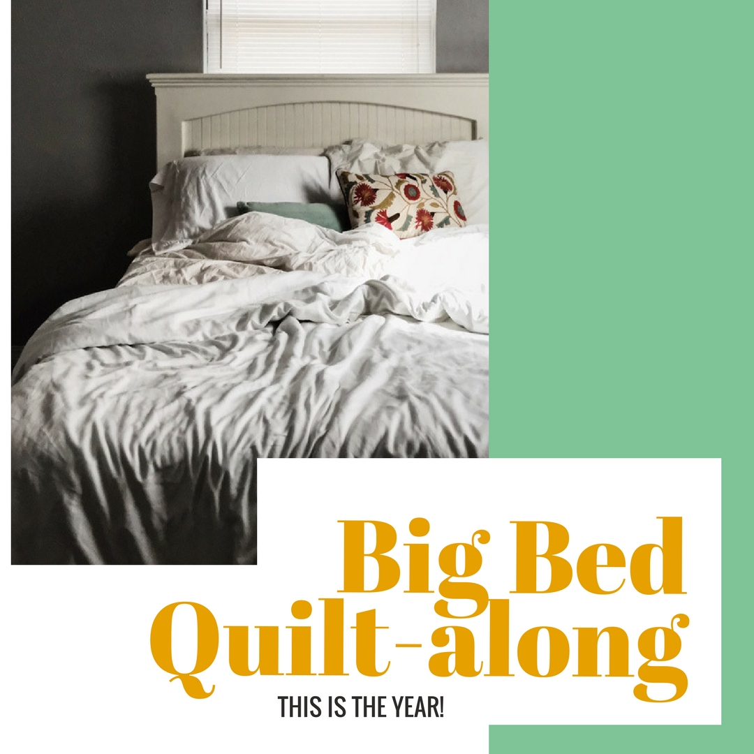 Big Bed Company The Big Bed Quilt Along Stitched In Color