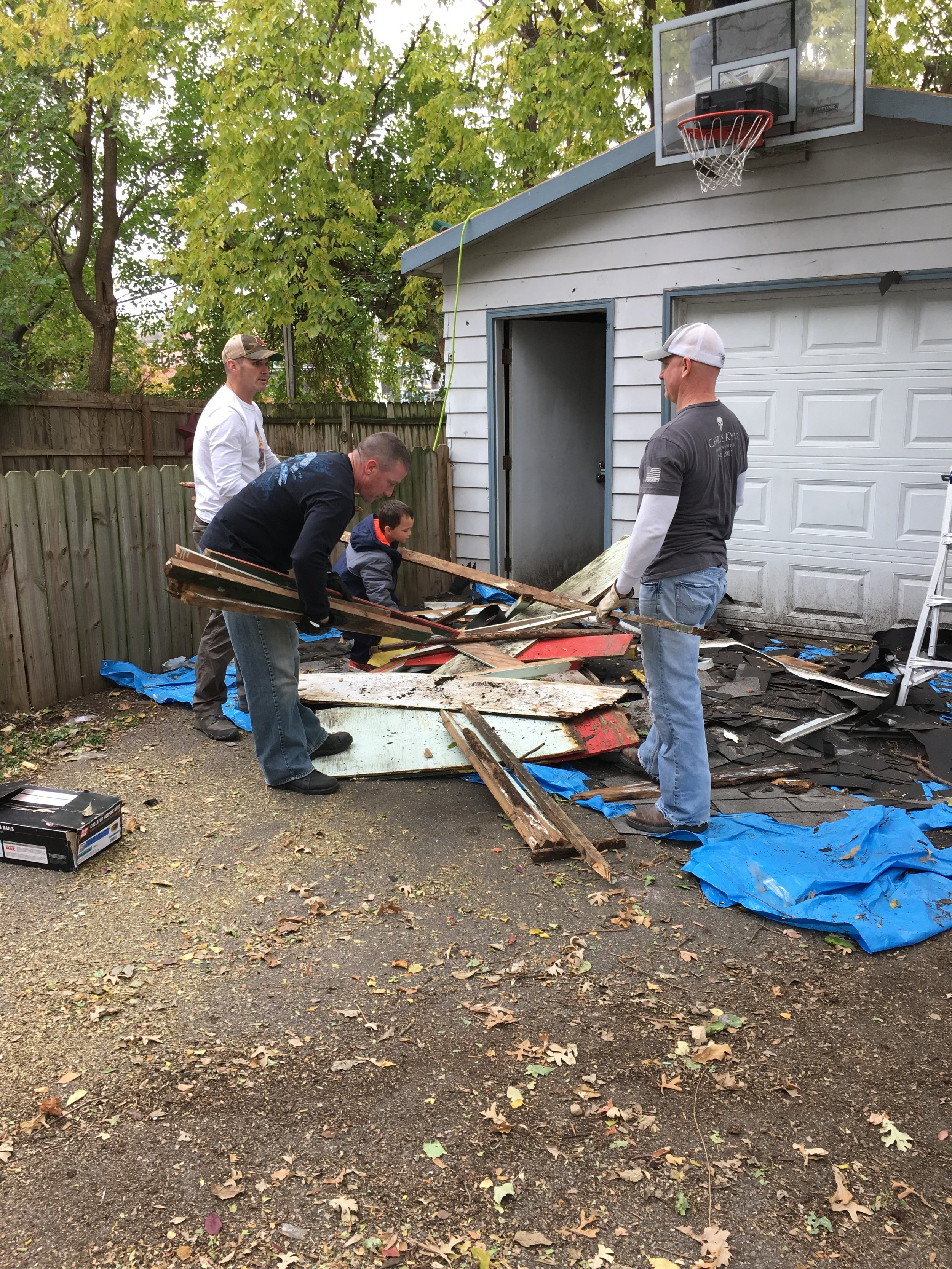 Backyard Clean Up Backyard Clean Up October 2017 The Titan Project