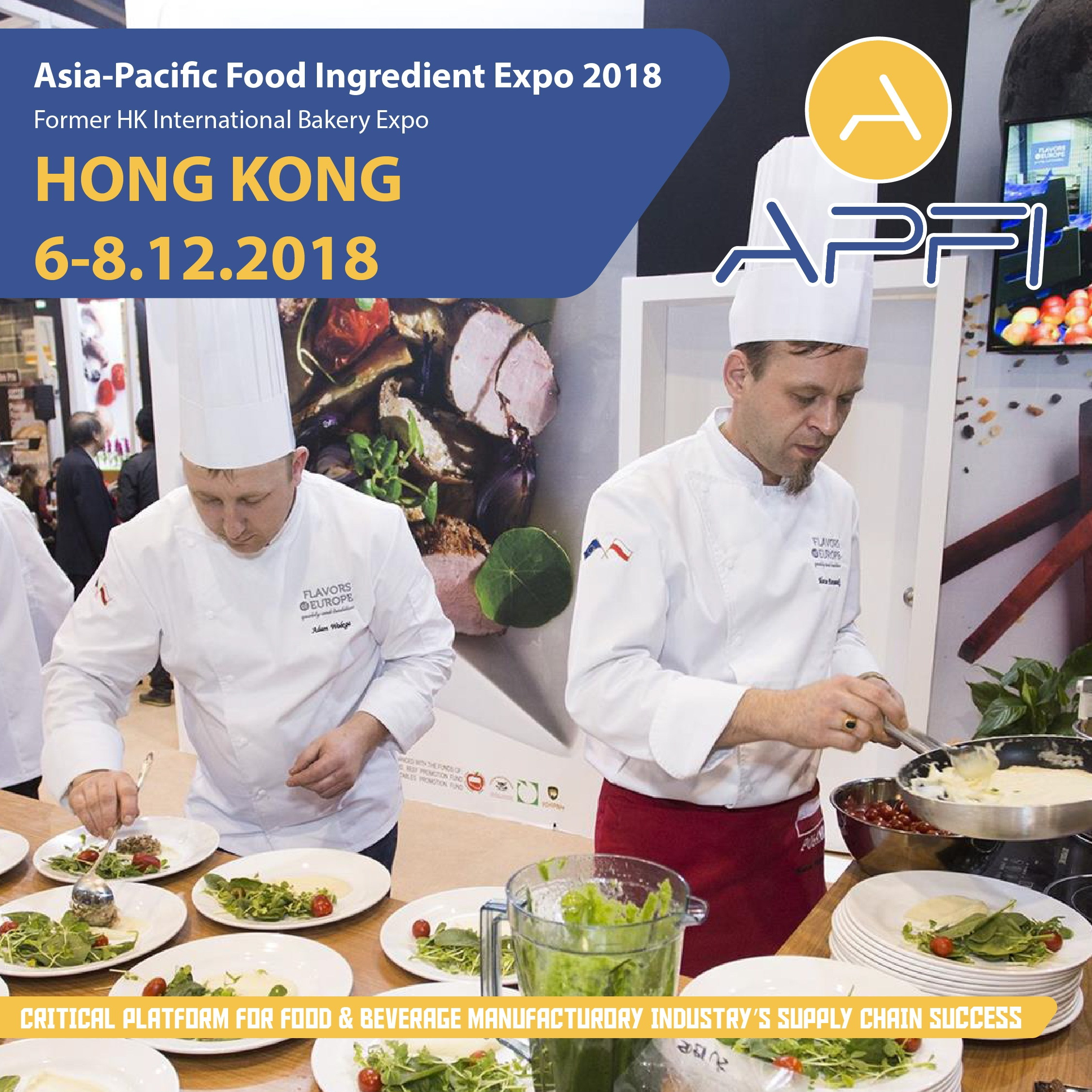 Expo Cuisine Asia Pacific Food Ingredient Expo 2018 Apfi Bakery Global
