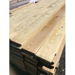 Small Crop Of Rough Sawn Cedar