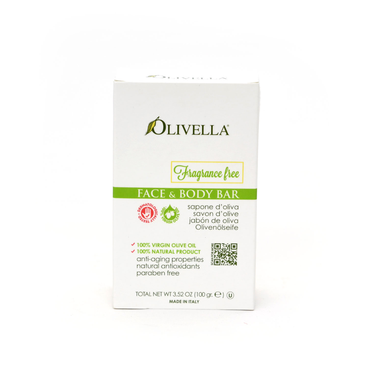 Cucina Bar Soap Olivella Face Body Bar