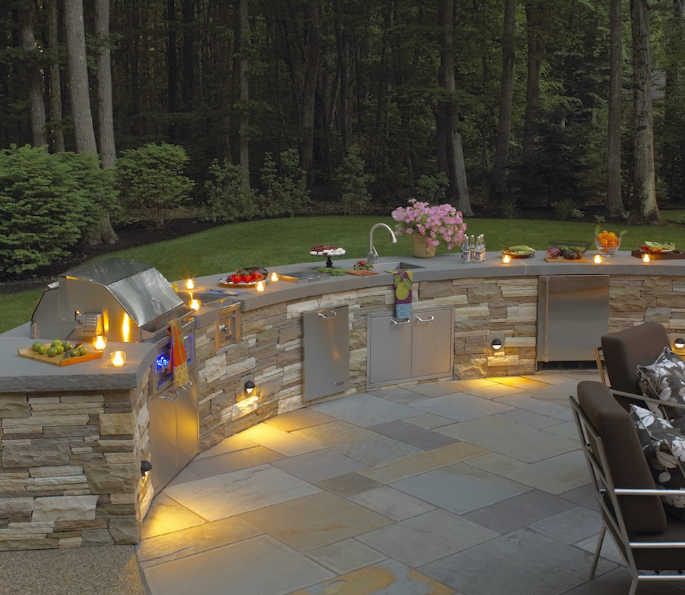 Innovative Kitchen Designs For Small Spaces Innovative Outdoor Kitchen Designs For Small Spaces In Newton Ma