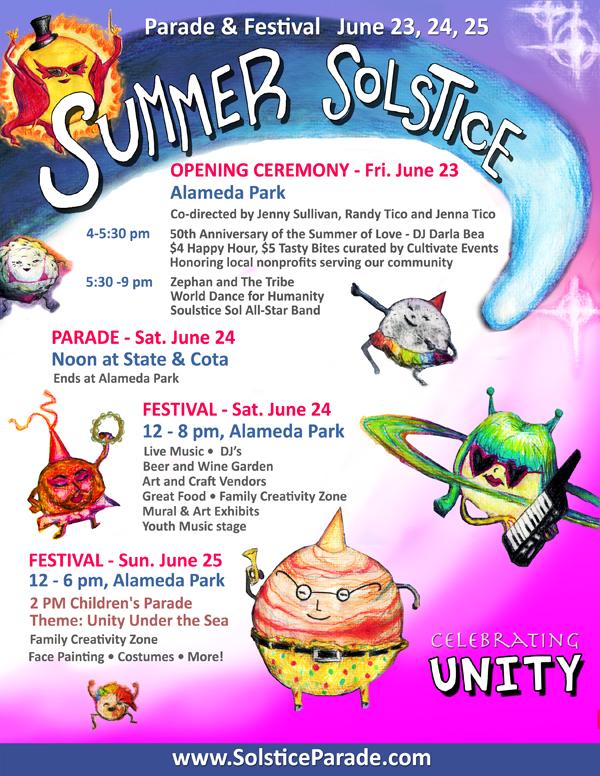 Santa Barbara Summer Solstice \u2014 simonette david jackson