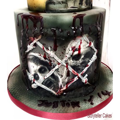 Medium Crop Of Walking Dead Cake