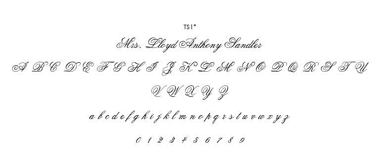 Fonts \u2014 Reaves Engraving
