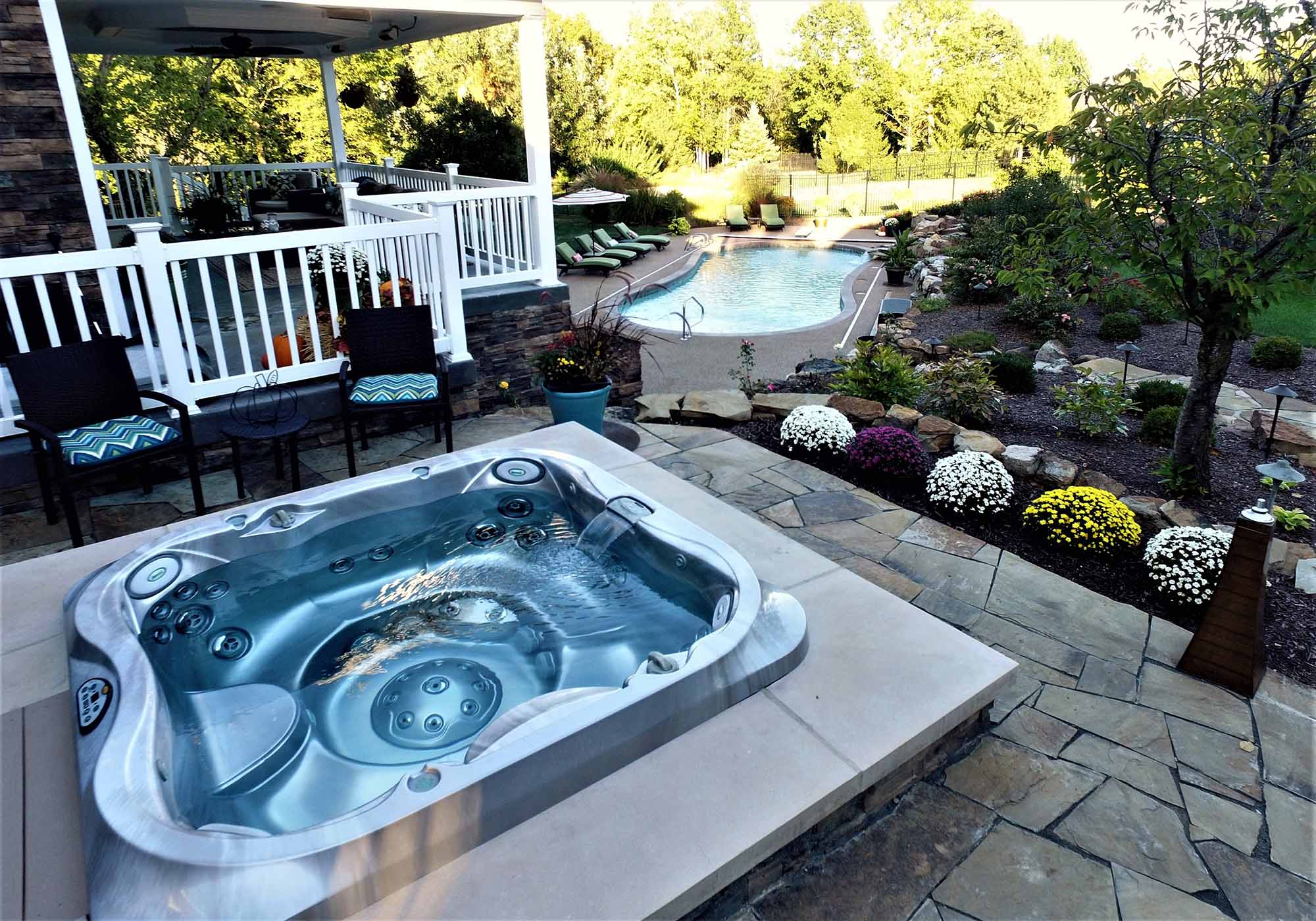 Jacuzzi Pool In Ground Columbia Pool Spa