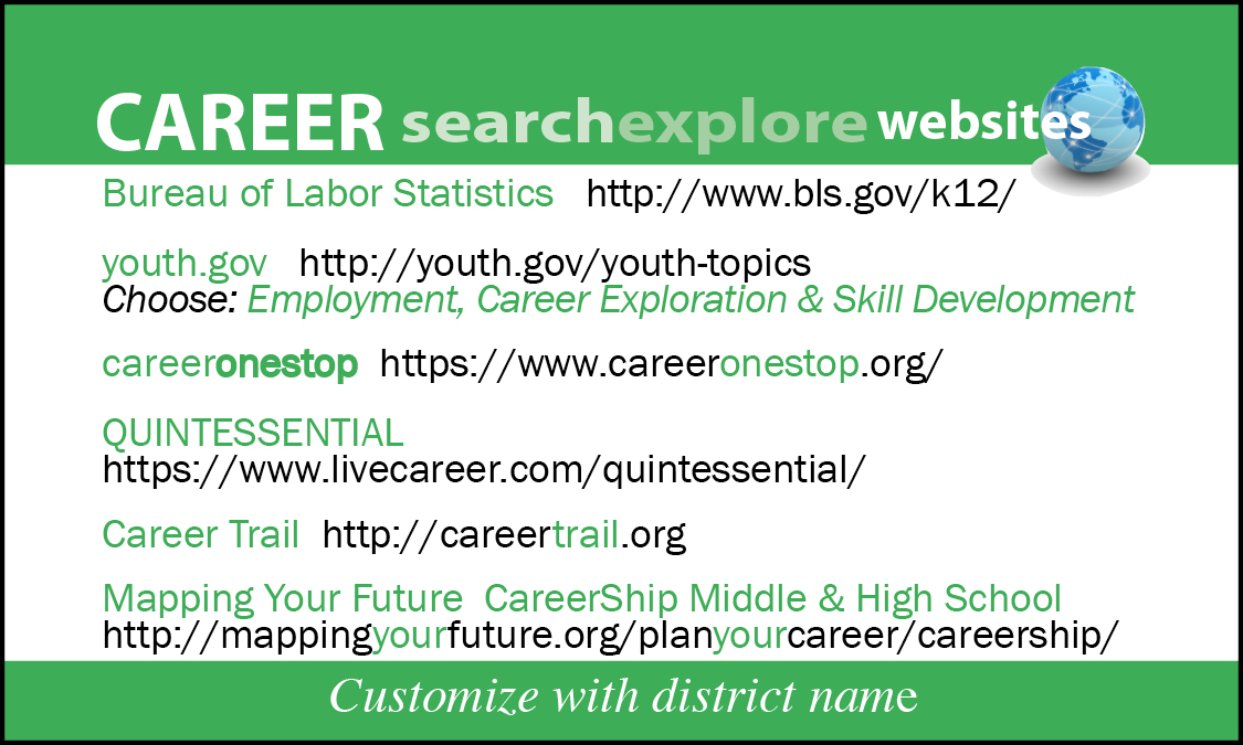 Web REFs \u2022 College Plan \u2022 Careers \u2022 Parent Engagement \u2014 The Parent